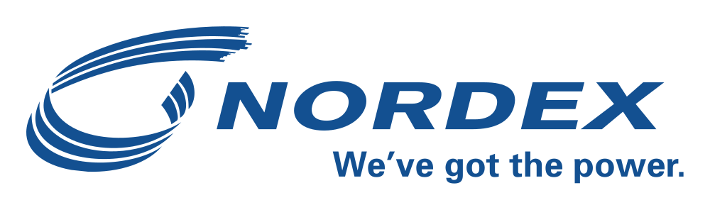 Nordex - We've got the power. Logo
